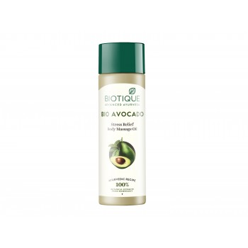 Buy Biotique Bio Avocado Stress Relief Body Massage Oil Online MY