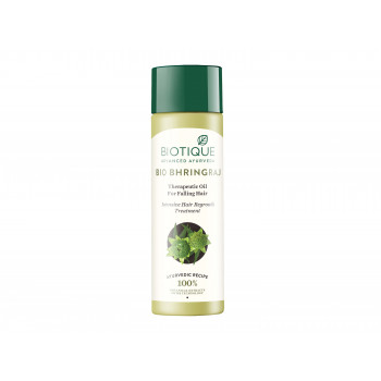 Buy Biotique Bio Bhringraj Fresh Growth Therapeutic Oil for Falling Hair Online MY