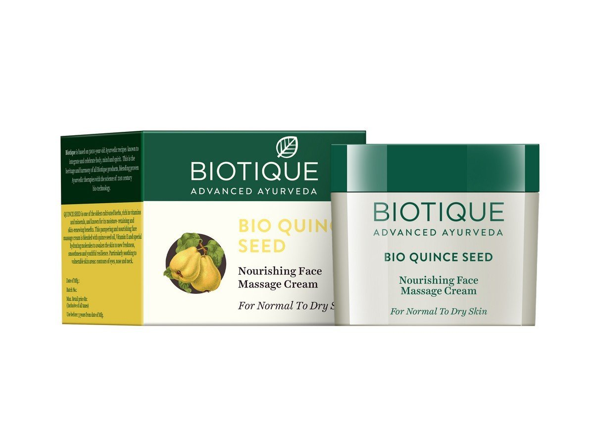 Buy Biotique Bio Quince Seed Nourishing Face Massage Cream Online MY