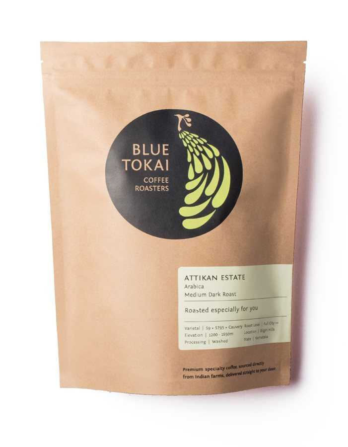 Buy Blue Tokai Attikan Estate - inverted Aeropress - 500 gms online Australia [ AU ]