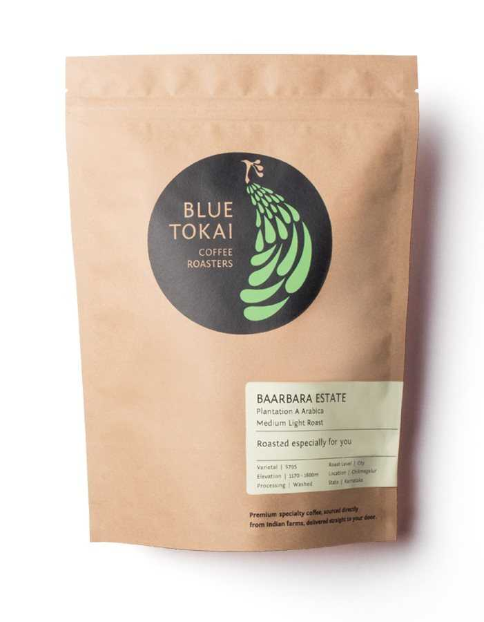 Buy Blue Tokai Baarbara Estate Arabica - aeropress - 500 gms online United States of America [ USA ]