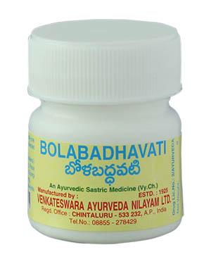 Buy Venkateswara Ayurveda Bolabadhavati Online MY