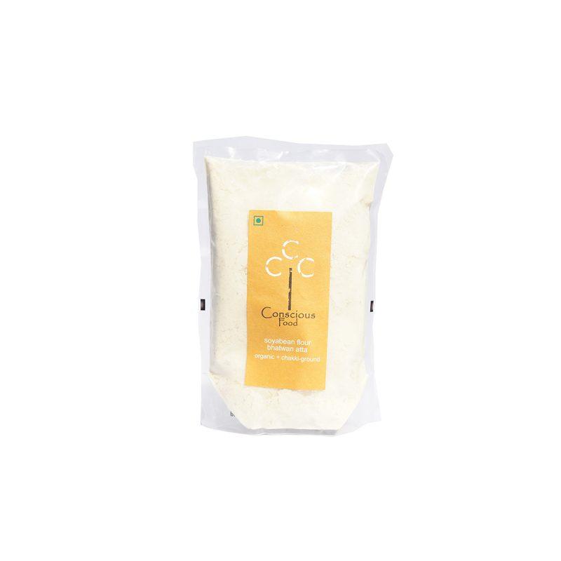 Buy Conscious Food Organic Soya Bean Flour Online MY
