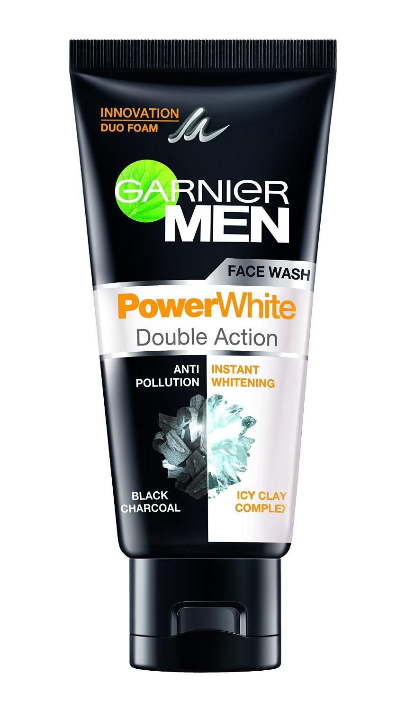 Garnier men powerwhite double action face wash buy for Action salon singapore
