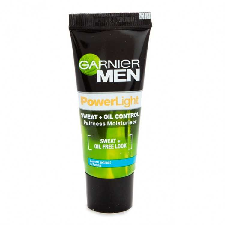 Buy Garnier MenPowerLight Sweat+Oil Control Moisturiser Online MY
