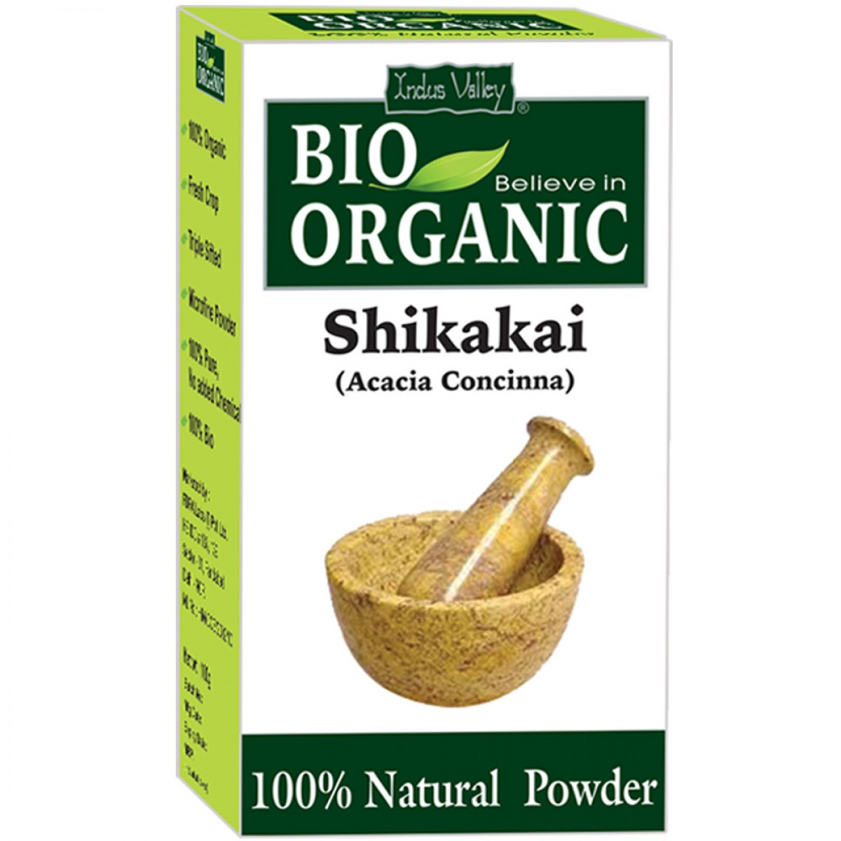Buy Indus Valley Bio Organic Shikkakai Powder online United States of America [ USA ]