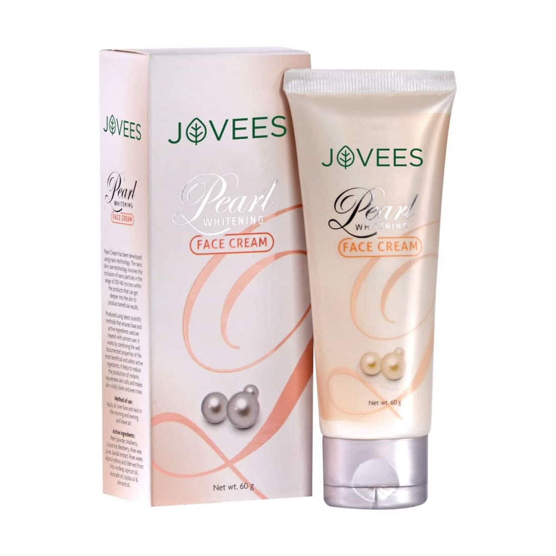 Buy Jovees Pearl Whitening Face Cream Online MY