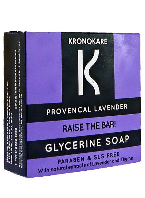 Buy KRONOKARE PROVENCAL LAVENDER- GLYCERINE SOAP Online MY
