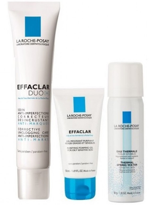 Buy LA ROCHE - POSAY ACNE TREATMENT COMBO KIT Online MY