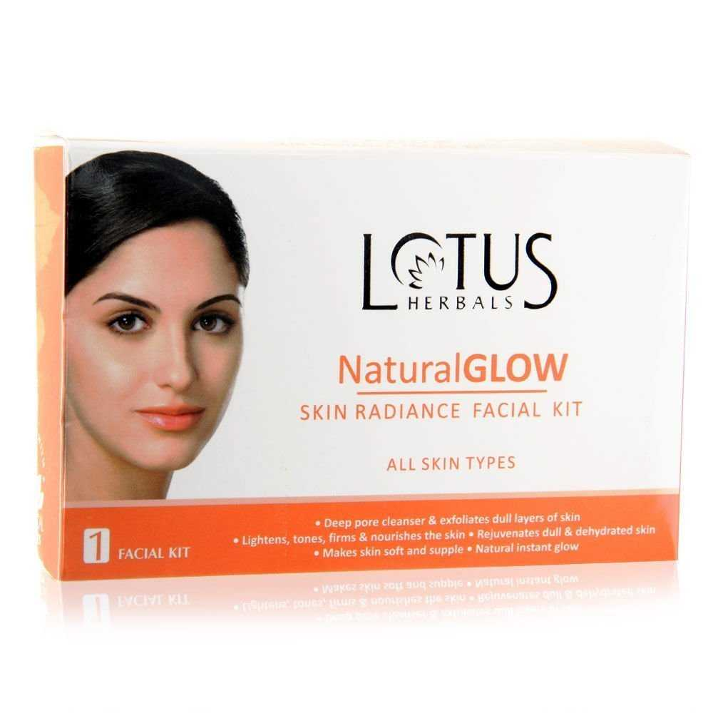 Buy Lotus Herbals Natural Glow Skin Radiance Facial Kit online United States of America [ USA ]