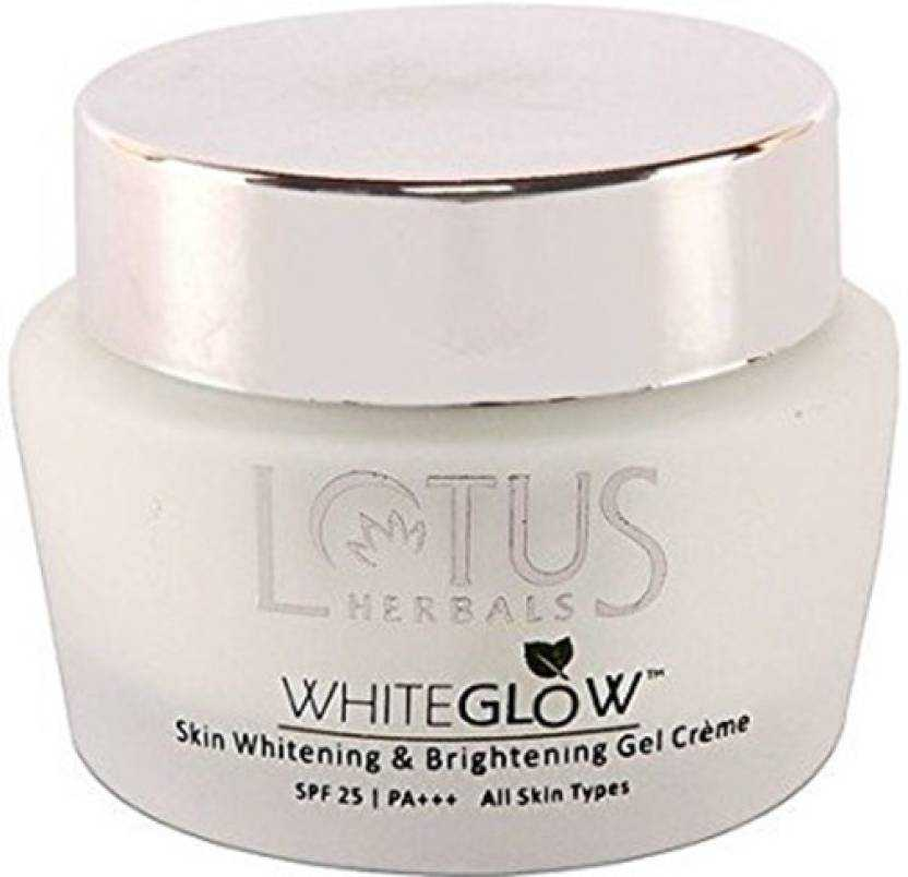 Buy Lotus Herbals White Glow Skin Whitening And Brightening Gel Cream Spf-25 online United States of America [ USA ]