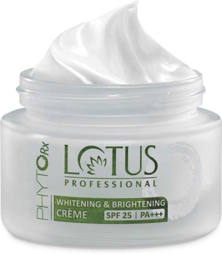 Buy Lotus PROFESSIONAL PHYTO-Rx Whitening & Brightening CREME SPF-25 | PA+++ online United States of America [ USA ]