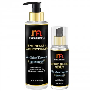 Buy Man Arden Shampoo & Conditioner + Hair Serum ( The Island Emperor Kit ) Online MY