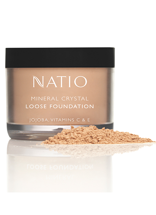 Buy Natio Mineral Crystal Loose Foundation Light Online MY