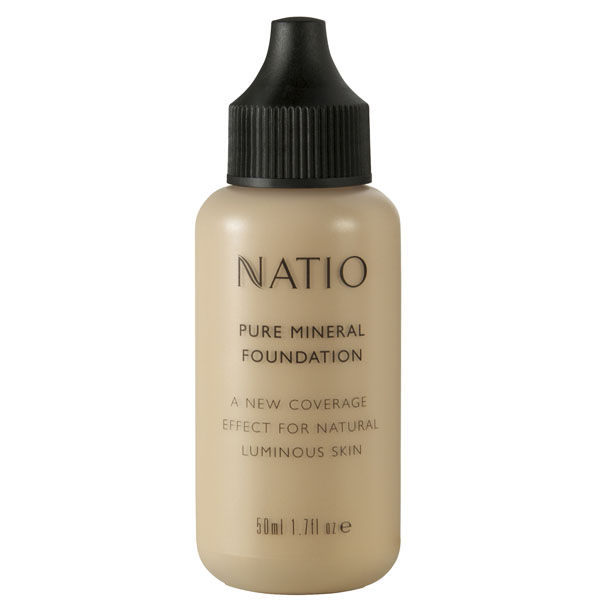 Buy Natio Pure Mineral Foundation Deep Tan Online MY
