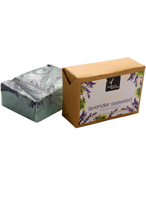 Buy Natural Bath And Body Bathing Bar - Lavender Seaweed - Soap Online MY