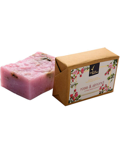Buy Natural Bath And Body Bathing Bar - Rose And Almond - Soap Online MY