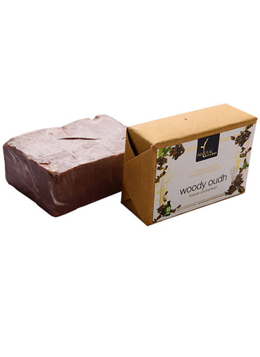 Buy Natural Bath And Body Bathing Bar - Woody Oudh - Soap Online MY