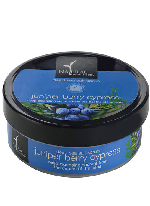 Buy Natural Bath And Body Dead Sea Salt Scrub Juniper Berry Cypress Online MY