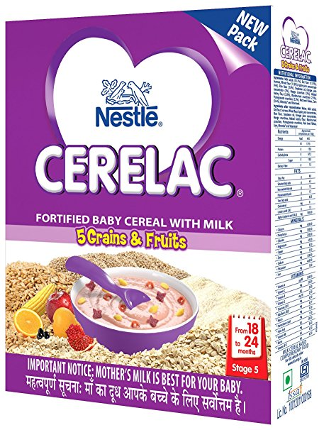 Buy Nestle Cerelac Infant Cereal Stage 5 - Grains and Fruits online Singapore [ SG ]