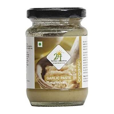 Buy 24 Mantra Organic Garlic Paste Online MY