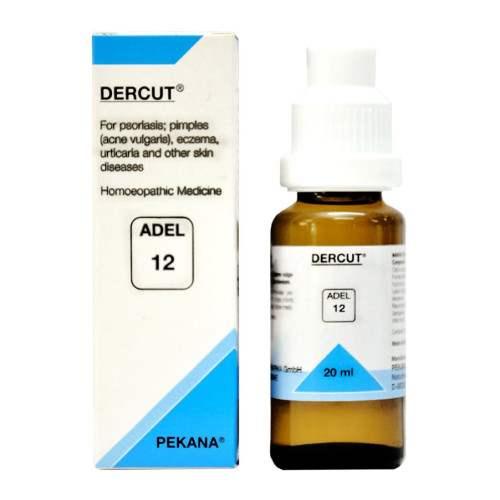 Buy Adelmar Pharma Adel 12 DERCUT Drops online United States of America [ USA ]