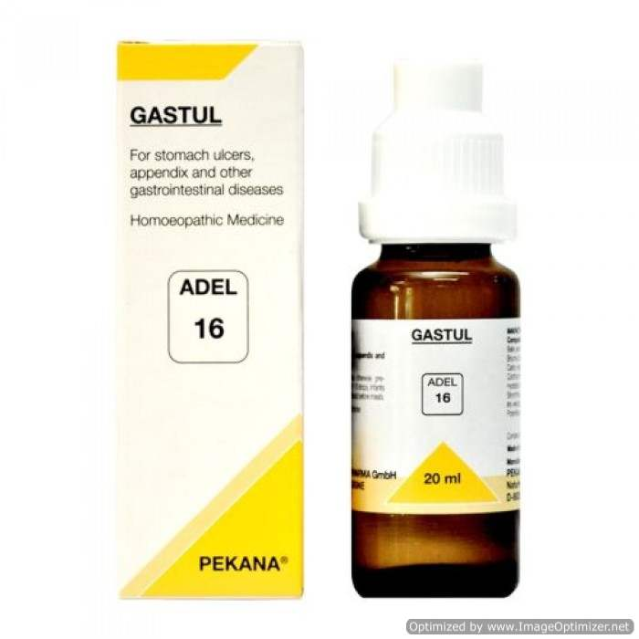Buy Adelmar Pharma Adel 16 GASTUL Drops online United States of America [ USA ]