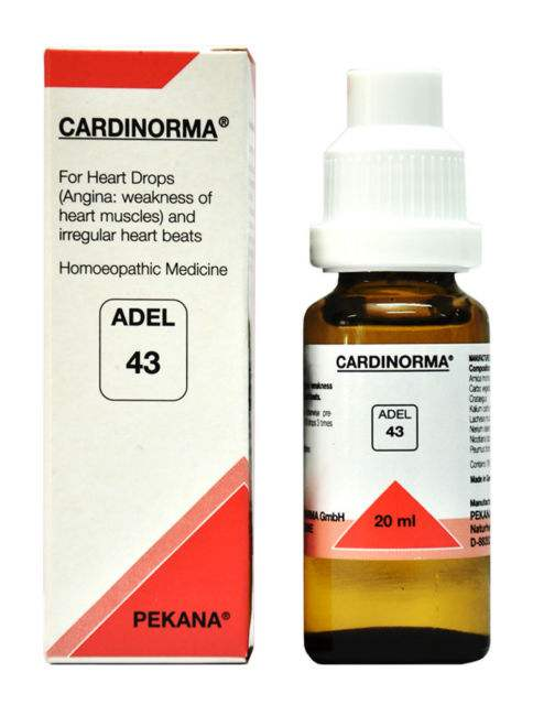 Buy Adelmar Pharma Adel 43 CARDINORMA Drops online United States of America [ USA ]