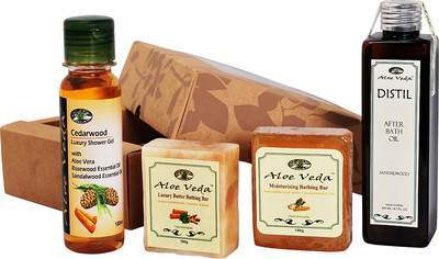 Buy Aloe Veda Indian Sandalwood Luxury Bath & Body Selection Online MY