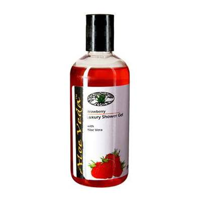 Buy Aloe Veda Strawberry Luxury Shower Gel Online MY
