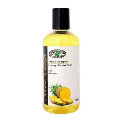 Buy Aloe Veda Tropical Pineapple Luxury Shower Gel Online MY