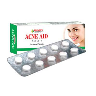 Buy Bakson Homoeopathy Acne Aid Tablets online United States of America [ USA ]