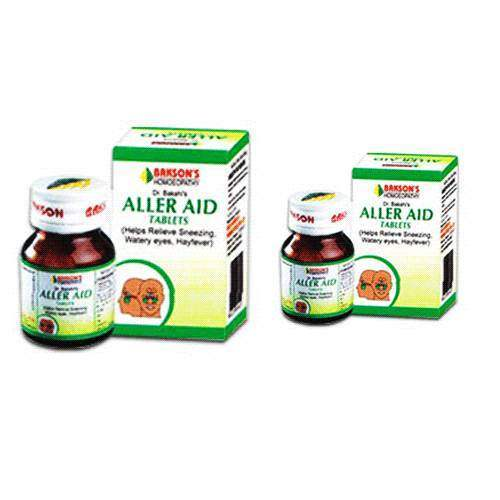 Buy Bakson Homoeopathy Aller Aid Tablets online United States of America [ USA ]