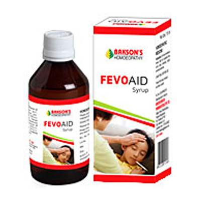 Buy Bakson Homoeopathy Fevo Aid Syrup online United States of America [ USA ]