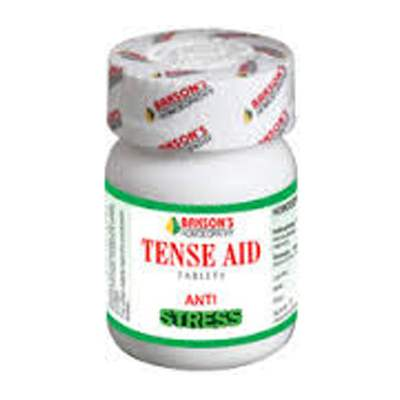 Buy Bakson Homoeopathy Tense Aid Tablet online United States of America [ USA ]