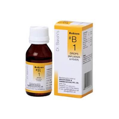 Buy Baksons B1 Influenza and Fever Drops online United States of America [ USA ]