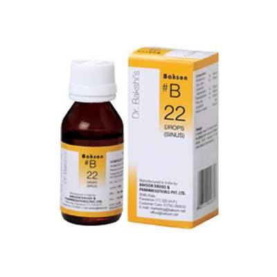 Buy Baksons B22 Sinus Drops online United States of America [ USA ]