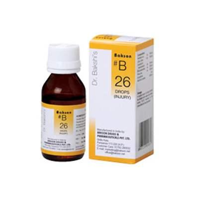 Buy Baksons B26 Injury Drops online United States of America [ USA ]