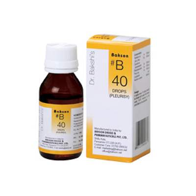 Buy Baksons B40 Pleurisy Drops online United States of America [ USA ]