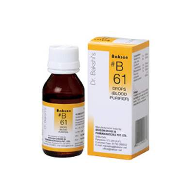 Buy Baksons B61 Blood Purifier Drops online United States of America [ USA ]