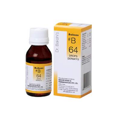 Buy Baksons B64 Dermato Drops online United States of America [ USA ]