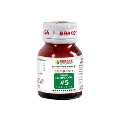 Buy Baksons compound 5 pain-joints online United States of America [ USA ]