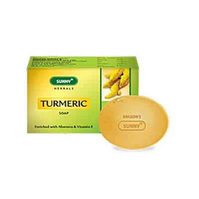 Buy Bakson's Sunny Herbals Turmeric Soap online United States of America [ USA ]