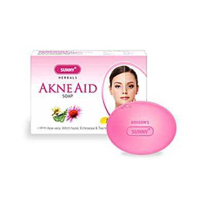 Buy Baksons Sunny Herbals Akne Aid Soap online United States of America [ USA ]