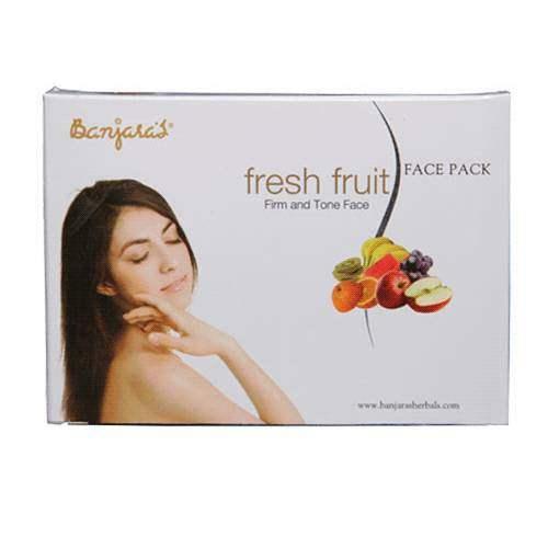 Buy Banjaras Fresh Fruit Face Pack Online MY