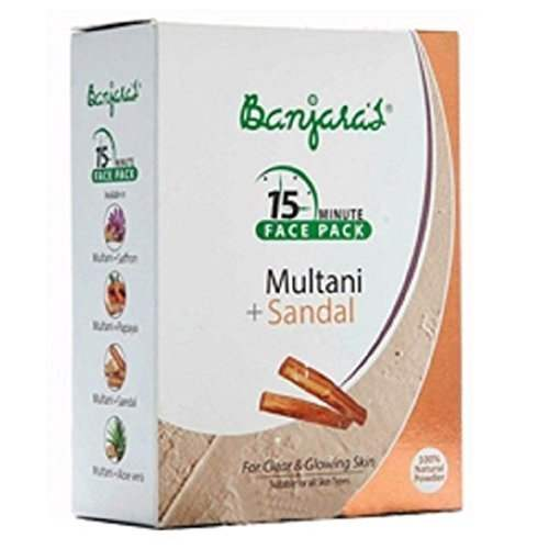Buy Banjaras Multani Sandal Skin Care Powder Online MY