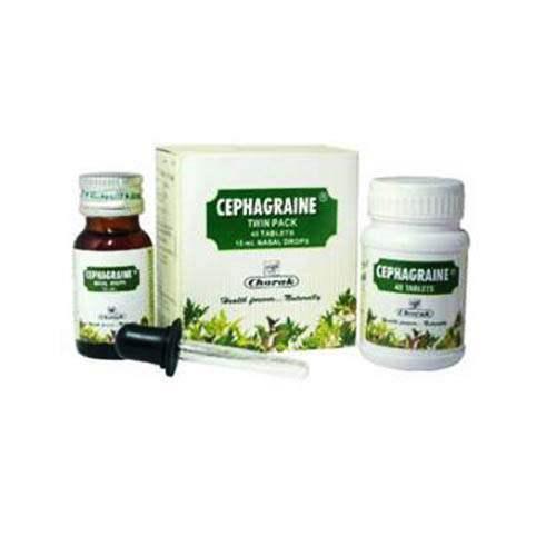 Buy Charak Cephagraine Nasal Drops Online MY