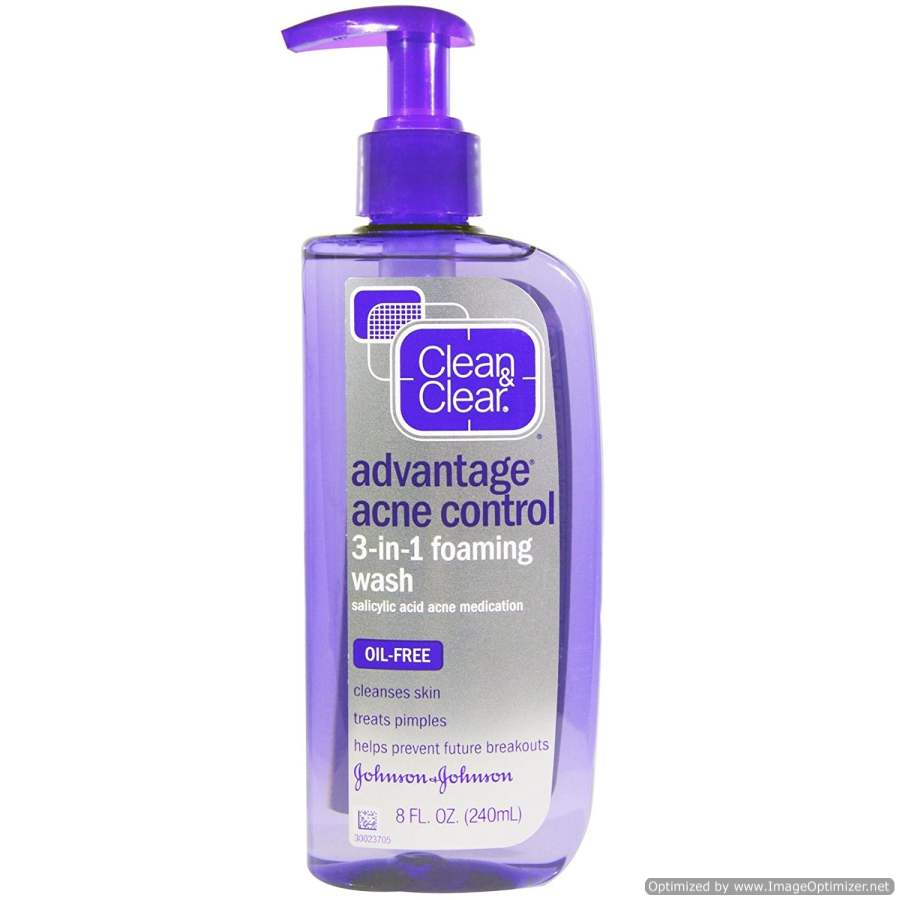 Buy Clean & Clear - Foaming Facial Wash Online MY