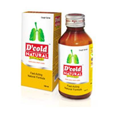 Buy D Cold Natural Cough Syrup Online MY