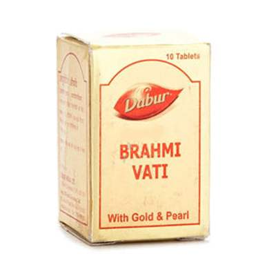 Buy Dabur Brahmi Vati with Gold & Pearl online United States of America [ USA ]